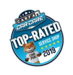 Carfax Top-Rated Badge
