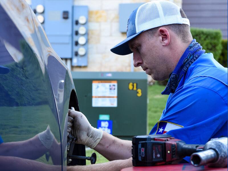 Brakes To Go Technician adjust vehicle brakes