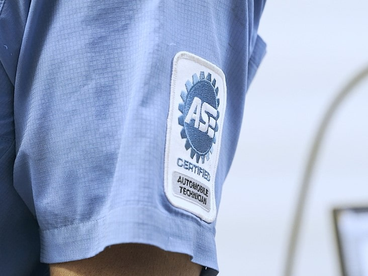 ASE Shirt Patch